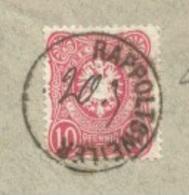 C993 - Enveloppe Dateur MANUSCRIT - RAPPOLTSWEILER - Ribeauvillé - 1884 - - Poststempel (Briefe)