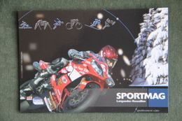 CPSM Sur Le Magasine De SPORT : SPORTMAG - Sport Moto