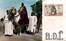 RARE BURKINA FASO OUAGADOUGOU EMPEREUR DES MOSSIS ET SES PALFRENIERS - Burkina Faso