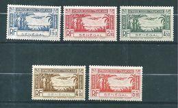 Colonie Timbres Du Sénégal   PA De 1940  N°13 A 17  Neufs ** Sans Charnières - Senegal (1887-1944)