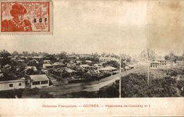 GUINEE PANORAMA DE CONAKRY NO 1 - French Guinea