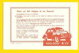 BUVARD / La 4 CV La 500.000e - Automotive