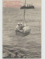Voyage Du Ministre Des Colonies. DAHOMEY . Arrivée à Cotonou Le Ministre Est Hissé Au Treuil Du Whart (Fortier 2610) - Dahomey