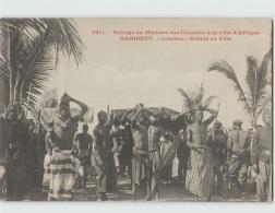 Voyage Du Ministre Des Colonies. DAHOMEY . Cotonou Entrée En Ville (Fortier 2611) - Dahomey
