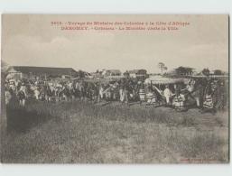 Voyage Du Ministre Des Colonies. DAHOMEY . Cotonou Le Ministre Visite La Ville (Fortier 2613) - Dahomey