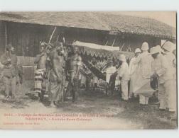 Voyage Du Ministre Des Colonies. DAHOMEY . Arrivée Dans Cotonou (Fortier 2615) - Dahomey
