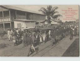 Voyage Du Ministre Des Colonies. DAHOMEY . Cotonou Visite De La Ville (Fortier 2616) - Dahomey