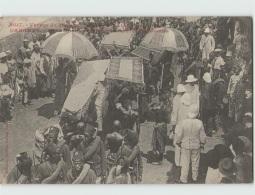 Voyage Du Ministre Des Colonies. DAHOMEY . Porto Novo Le Ministre Visite Les Factoreries (Fortier 2617) - Dahomey