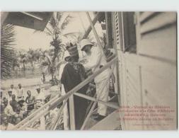 Voyage Du Ministre Des Colonies. DAHOMEY . Cotonou Le Ministre Décore Un Indigène (Fortier 2618) - Dahomey