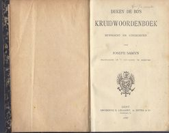 1888 DEKEN DE BO'S KRUIDWOORDENBOEK BEWROCHT EN UITGEGEVEN JOSEPH SAMYN COLLEGIE MEENEN ( MENEN ) GENT LELIAERT, SIFFER - Books, Magazines, Comics
