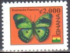 Ghana 2005/07  Definitive - Tourism - Butterflies - Mi.3891 -  MNH (**) - Schmetterlinge
