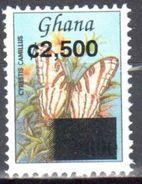 Ghana 2002  Definitive - Tourism - Butterflies - Mi.3424 Overprint -  MNH (**) - Schmetterlinge
