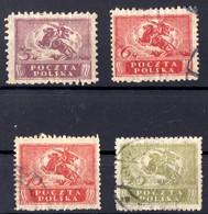 1920 POLOGNE  Obl Entre 213 Et 217 - 1919-1939 Republic