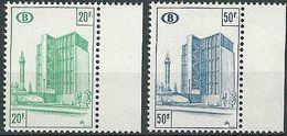 BELGIEN 1975 Mi-Nr. 350/51 Eisenbahnmarken ** MNH - Bahnwesen