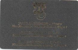 Carte De Membre Casino : Casino VIP Club Prague (Ambassador - Monaco - Panorama) - Casino Cards