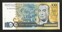BRASIL - BANCO CENTRAL Do BRASIL - 100 CRUZADOS / J. KUBITSCHEK - Brasile