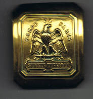 Boucle De Ceinturon  Garde De Paris - Police