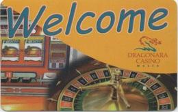 Carte De Membre Casino : Dragonara Casino Malta Malte (Groupe Accor) - Casino Cards