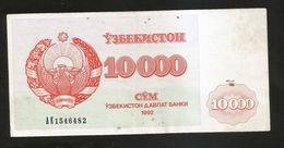 UZBEKISTAN - 10000 SUM (1992) - Uzbekistan
