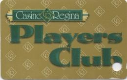 Carte De Membre : Casino Regina Players Club Canada - Cartes De Casino