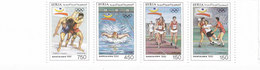 Syria 1992,Olympic Game Barcelona Strip Of 4 Stamps Cpl. MNH ,nice Topical- Red. Price - SKRILL PAY ONLY - Syrie