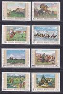 MONGOLIE N°  495 à 502 ** MNH Neufs Sans Charnière, TB (D4535) Tableaux Divers - Mongolie