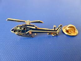 Pin's Gendarmerie - Hélicoptère - Surveillance Aérienne (KA27) - Army