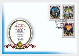 Letland / Latvia - Postfris / MNH - FDC 100 Jaar Republiek Letland 2017 - Letland