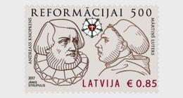 Letland / Latvia - Postfris / MNH - 500 Jaar Reformatie 2017 - Letland