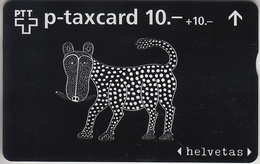 SUISSE - PHONE CARD - TAXCARD-PRIVÉE   ***  HELVETAS / 3 - SWISS HELP  *** - Switzerland