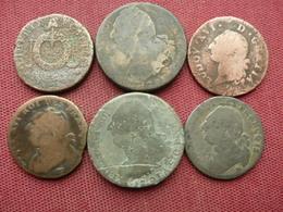 FRANCE Lot De 6 Monnaies Constitutionnelles - 1789-1795 Monnaies Constitutionnelles