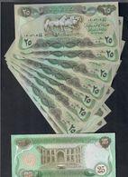 Iraq Irak 25 Dinars 1981-1982 Pick 72 Fds Unc 10 Consecutivi Da Mazzetta - Iraq