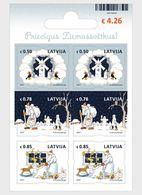 Letland / Latvia - Postfris / MNH - Sheet Kerstmis 2017 - Letland