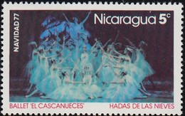 """NICARAGUA - Scott #1060 Scenes From The Ballet """"The Nutcracker"""" By Peter Tchaikovsky / Mint NH Stamp - Dance"""