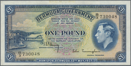 Bermuda: 1 Pound 1937 P. 11b In Condition: XF. - Bermudas