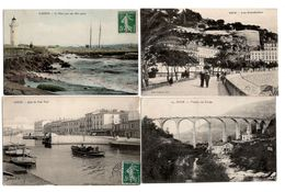 LOT  DE 40 CARTES  POSTALES  ANCIENNES  DIVERS  FRANCE  N53 - Cartes Postales