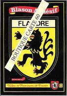 59 -FLANDRE- BLASON- ECUSSON - HERALDIQUE - Zonder Classificatie