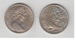 AUSTRALIE 20 CENTS 1973 - Monnaie Décimale (1966-...)