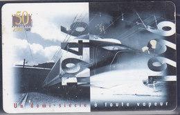 """Luxembourg, Telekaart """"50 Joer CFL 1946-1996, 10 Units (T.118) - Luxembourg"""