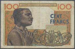 French West Africa / Französisch Westafrika: 100 Francs 1957 Institut D'Emission De L'A.O.F. Et Du T - West African States