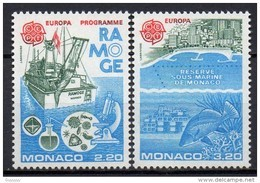 Monaco - 1986 - Yvert N° 1520 & 1521 **  - Europa - Nuovi