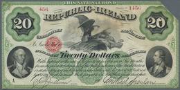 """Ireland / Irland: """"The Republic Of Ireland"""" 20 Dollars 186x P. NL, Never Folded, Extremly Crisp Orig - Ireland"""