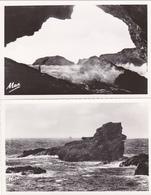 Le Chien/grotte De L'apothiairerie BELLE-ile-en MER  Morbihan Lot De 2 Cartes N°je5 - Belle Ile En Mer