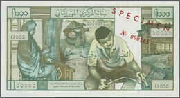 Mauritania / Mauretanien:  Banque Centrale De Mauritanie 1000 Ouguiya June 20th 1973 SPECIMEN, P.3s - Mauritania