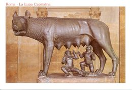 Italie - Rome - La Lupa Capìtolina - Nº 4100 - Musei