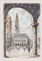 Carte Postale       BARRE  DAYEZ    ARRAS    La Petite Place Et L'hotel De Ville     2097 A - Arras