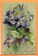 U241, Illustrateur C. Klein, Violette, Fleur, Précurseur, Circulée 1902 - Klein, Catharina