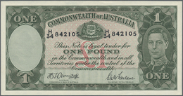 Australia / Australien: 1 Pound ND(1942) P. 26b In Condition AUNC+. - Australia