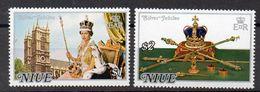 NIUE   Timbres Neufs ** De 1977 (ref 4910 ) Elisabeth II - Niue