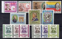 VENEZUELA    Timbres Neufs **  Années 60 (ref 4911 )  En Séries - Venezuela